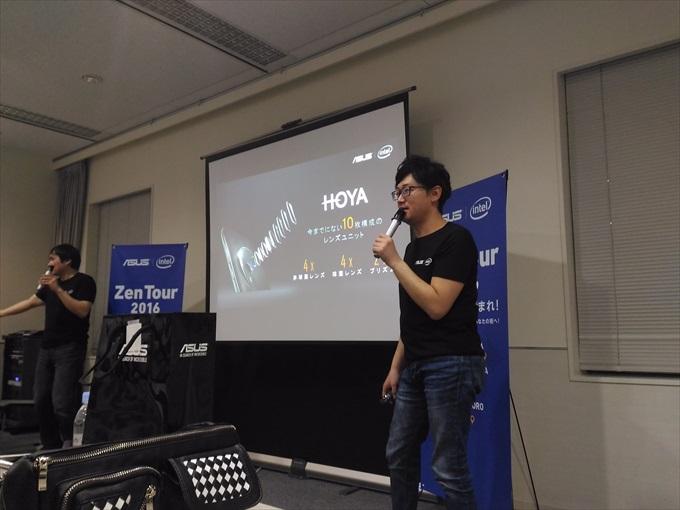 ASUS ZenFone ZoomはHOYA製10枚のレンズユニットを搭載