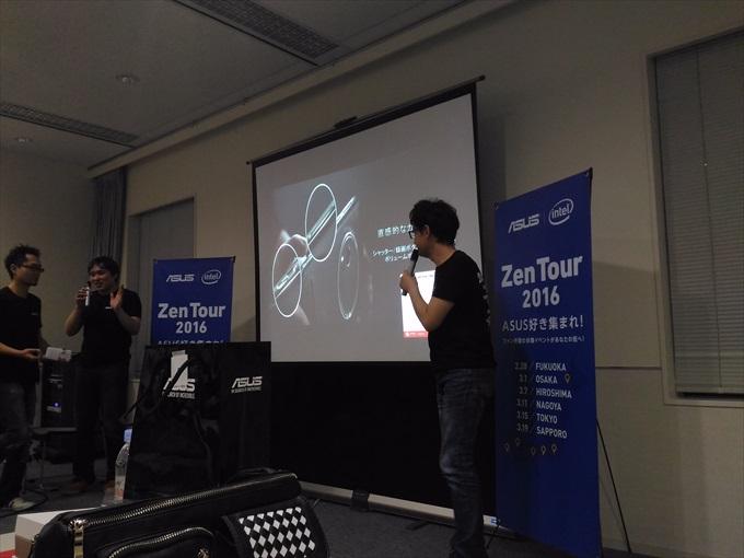 ASUS ZenFone Zoomのカメラは直感的に操作できる