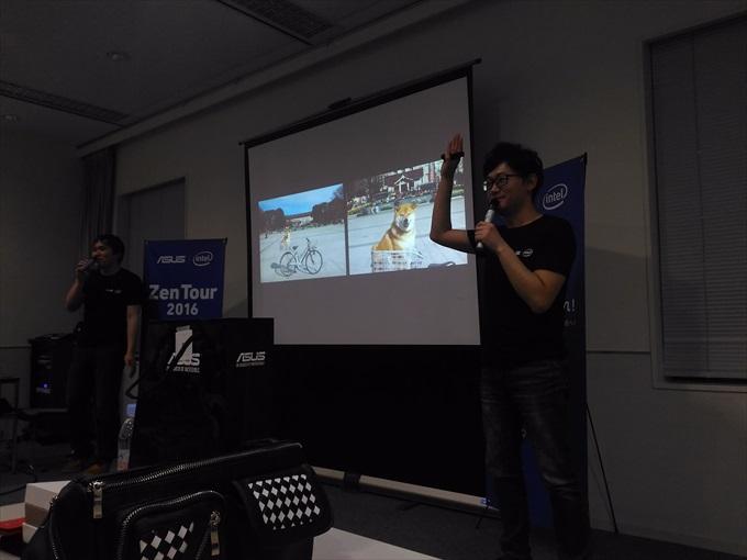 ASUS ZenFone Zoomのズーム比較画像