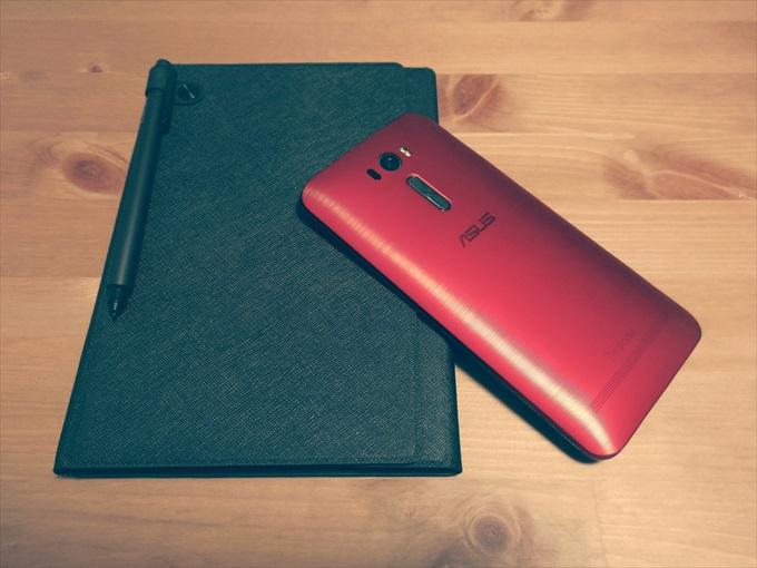 ZenFone Zoomで撮影したZenPad S 8.0とZenFone 2 Laser