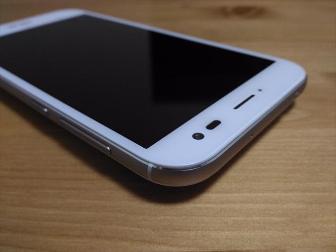 ASUS ZenFone Zoomの上部