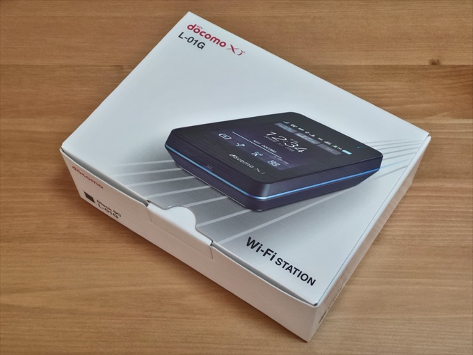 docomoのモバイルWi-Fiルーター Wi-Fi STATION L-01G