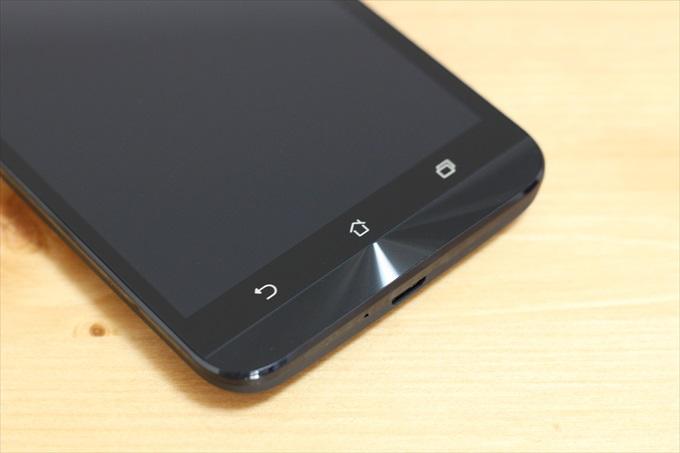ASUS ZenFone Goのスピン加工