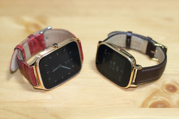 ASUS ZenWatch2 WI501QとWI502Q