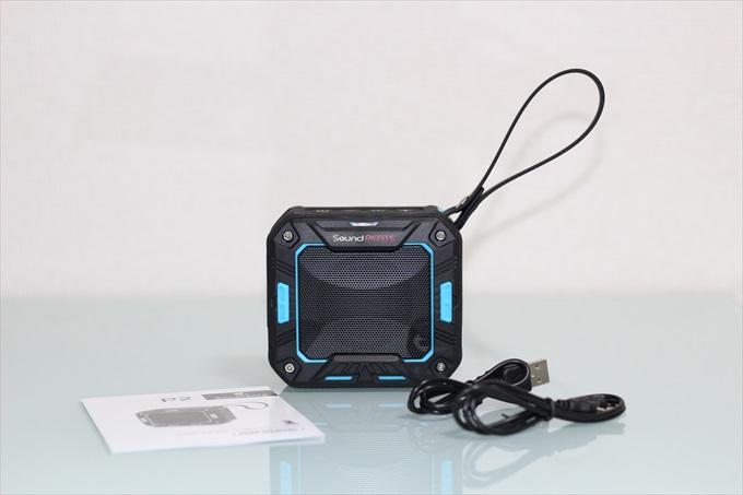 SoundPEATSの防水防塵仕様のポータブルスピーカーP2