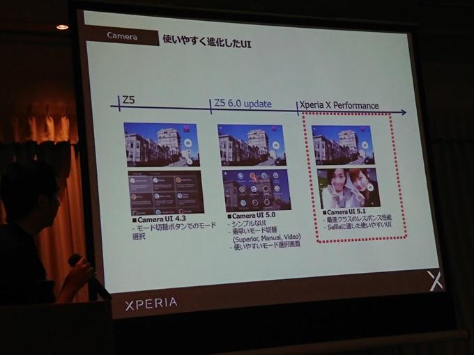 新しくなったXperia X PerformanceのカメラUI