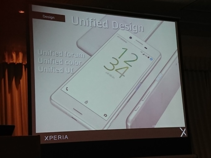 Xperia Xシリーズの新しいUnified Design