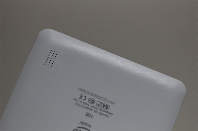 Chuwi Hi8 Proの内蔵スピーカー