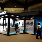 Galaxy Studio in Osakaの特設スタジオ