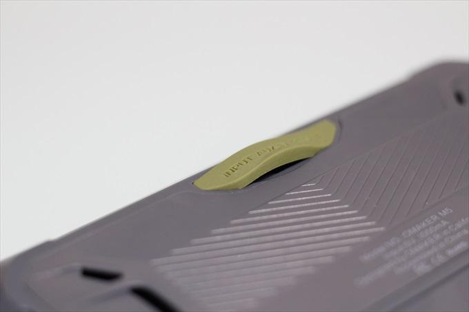 Omaker M5のラバー製防水キャップ
