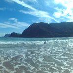 アクションカメラC1で撮った海辺の写真