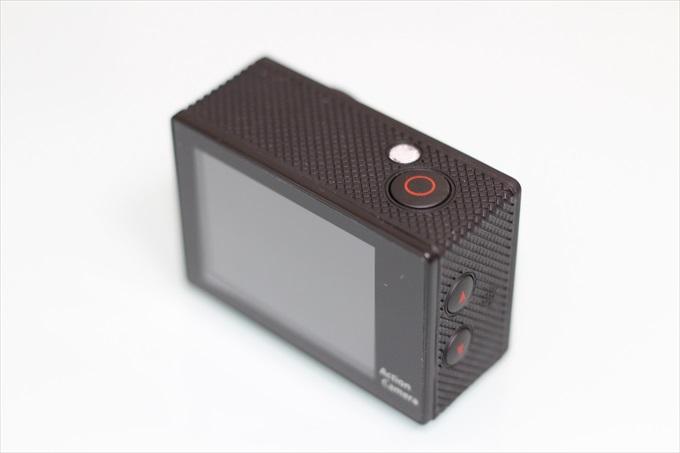 アクションカメラC1の操作ボタン