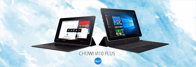 Remix OS 2.0を搭載した中華タブレット Chuwi Vi10 Plus