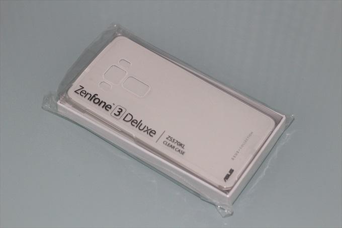 ZenFone 3 Deluxe ZS370KL専用 ASUS純正クリアケース