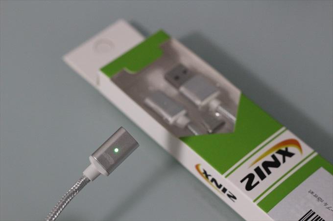 ZinxのマグネットUSBケーブル
