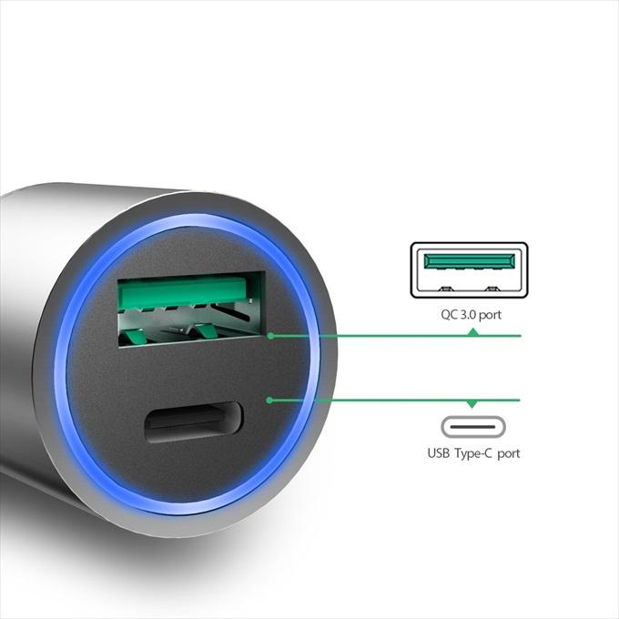 dodocoolの車載充電器の説明画像