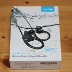 iina-styleのワイヤレスイヤホンSound&Sports04のパッケージ