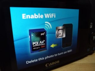 PQI Air Card 2を操作するための画像