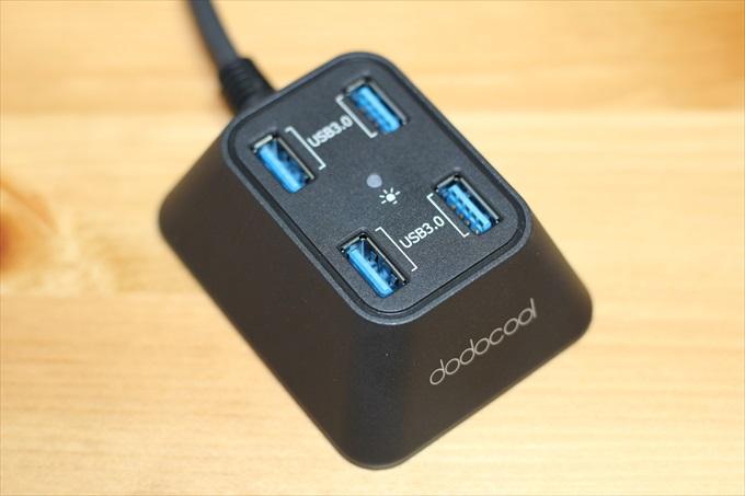 dodocoolのUSB 3.0対応USBハブ