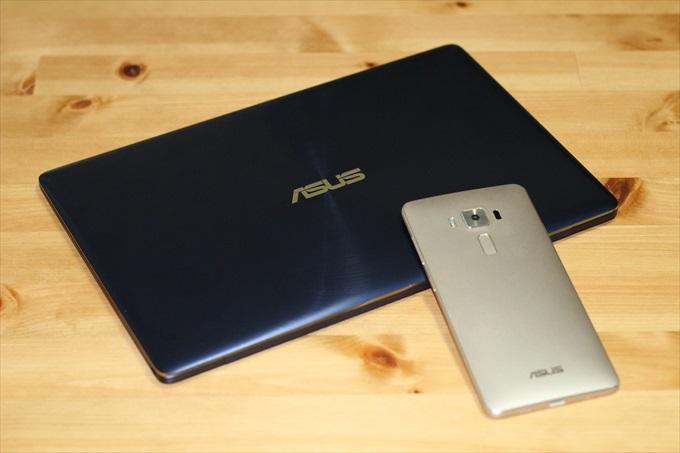 ASUS ZenBook 3とZenFone 3 Deluxe