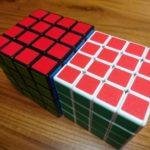 本家ルービックキューブとMIXBICのスピードキューブ