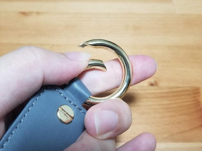 キーホルダーのリング