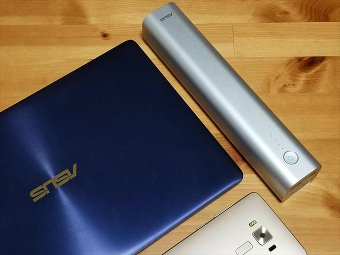 ASUS ZenBook 3とZenFone 3 DeluxeとZenPower Max
