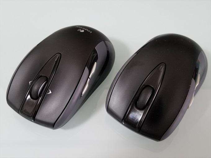 LogicoolのワイヤレスマウスM545とM546