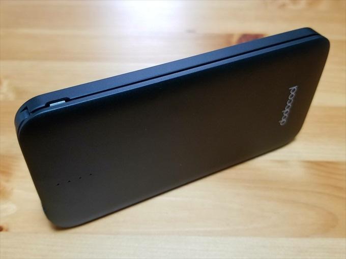 モバイルバッテリーのMicro USBポート