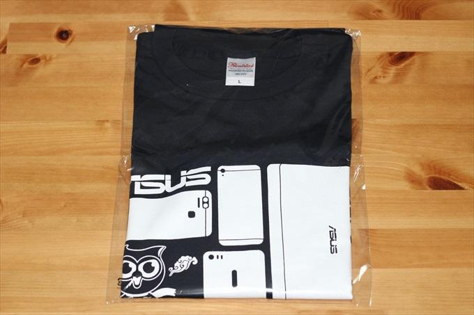ASUSオフィシャルTシャツ